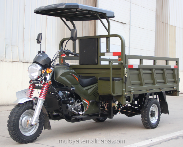 Petrol Tricycle 300cc Chinese Trike Water Cooled 3 Wheel Motorcycle for Cargo