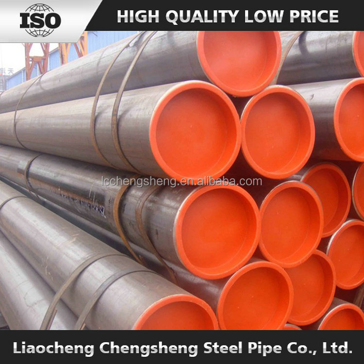API approved hot rolled carbon steel SMLS pipe line / pipe in oil pipe line