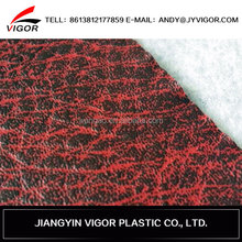 OEM hot sale thickness and pattern leather scrap for sale