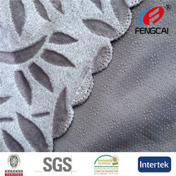 Turkey anti-slip backing sofa fabric Size:180x220cm 4 sides wavy laser cut