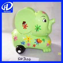 Wholesale Cartoon Ceramic Car Piggy Bank for Safe Money