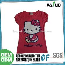 100% Warranty Hot Design Children 70% Polyester 30% Cotton T-Shirt