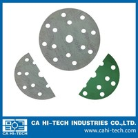 4 inch high quality sanding disc for atuto putty and paint, mobile phone shell