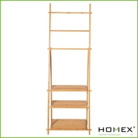 Bamboo Towel Racks/Standing Bath Towel Holder/Homex_BSCI