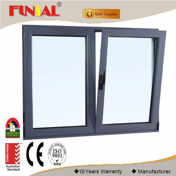 Best price aluminum frame awning casement window
