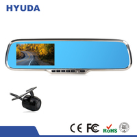 HD Dual Lens car cam corder DVR Dash Cam and Rear View Camera Accident Recording System