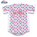 2017 New design best quality fashionable fancy mens baseball jersey made in china