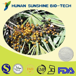 Cosmetic Raw Material Antioxidant Saw Palmetto Fruit P.E.