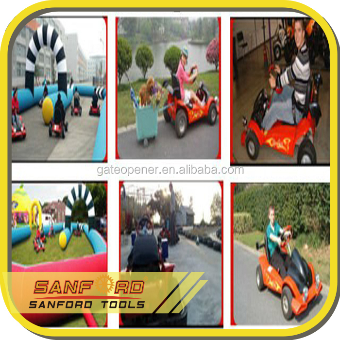 Three Kids /two Adults 2 Seats Electric Go Kart for Kids