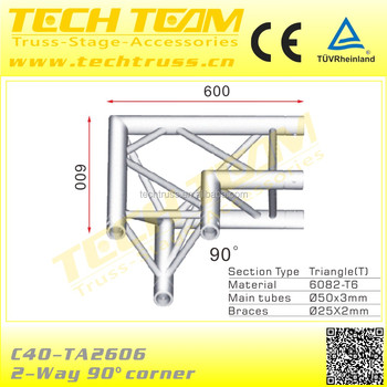 Accept Order Express on Alibaba Lighting DJ Aluminum Material Truss