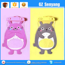 Cute Totoro Design High Quality PVC Waterproof Cell Phone Case