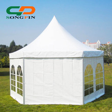 Guangzhou wholesale commerce wedding even marquee pagoda circus tent sale