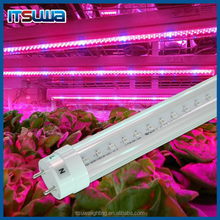 4FT 18W T8 LED Grow Tube Light Blue/Red 8:1 For Plant Growth