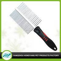 Factory supply pet grooming hair comb