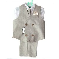 New design professional child baby boy vest suit