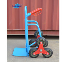 six wheel hand trolley for climbing stairs hand tool