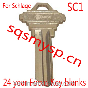 F461Best quality For Schlage door key blanks SC1 Xianpai Manufactre