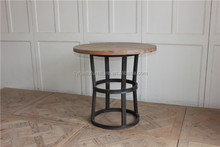 industrial home furniture round <strong>bar</strong> table design