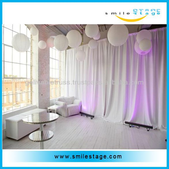wholesale pipe and drape for stage drapery/ curtains