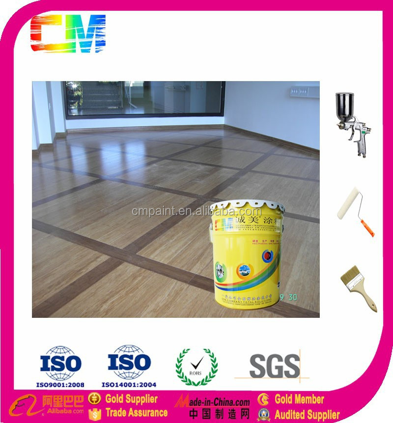 CM Paint Floor protection Water based wood floor paint