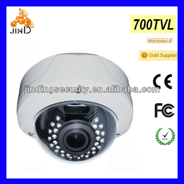 "1/3"" Sony CCD, 700TVL, Fish-Eye 130, Vandalproof camera, SDI dome camera(JD-FE130DV2/IR)"