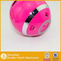 made in China colorful ball bluetooth speaker wholesale , ball bluetooth speak, round bluetooth speaker