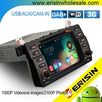 Erisin ES4046B 2 Din 7 inch Touch Screen Car DVD Navigation for E46