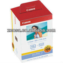 Canon Color Ink/Paper Set KL-36IP Ink Photo Paper for CP900 108 Sheets 3R