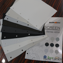 Basden PVC 8% sunscreen waterproof fabric for outdoor curtain