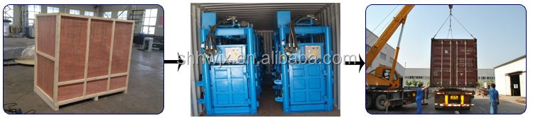 Horizontal Hydraulic Balers for waste paper/plastic / straw baling press machine