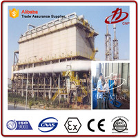 Industrial dust collection filter dust control system