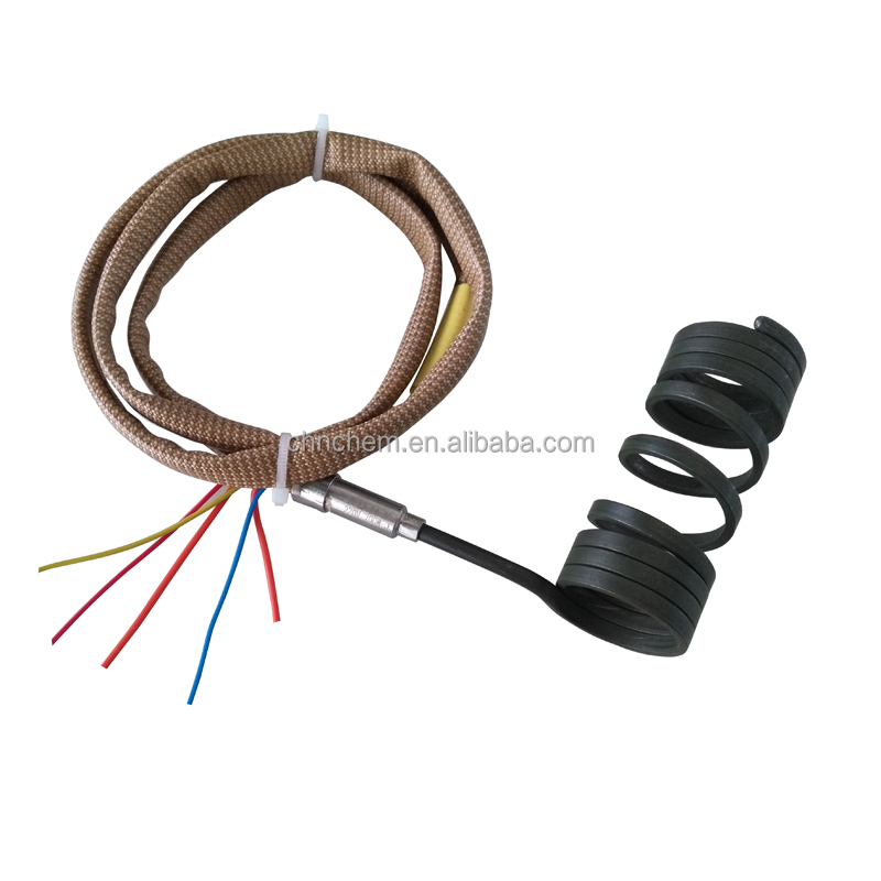 Micro Tubular Electric ss Hot Runners Coil Heater with J Thermocouple