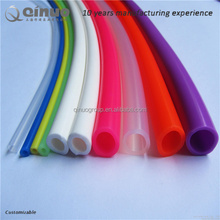 High quality rubber extrusion high temperature flexible high temp blue silicone tubing