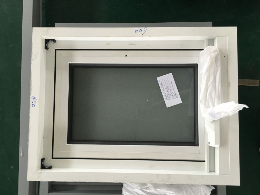 Double Glazing Product : Aluminium awning window single glazing double