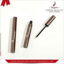 Plastic liquid eyeliner empty cosmetic package with different fiber heads also used for lipstick pencil,nail art pencil etc