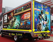 Good quality truck mobile 5d cinema/ hot sale 5D cinema theater /6d 7d 9d 12d xd truck