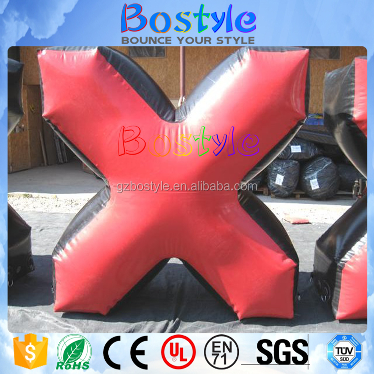 X Bunker Bootcamp Panitball Style Inflatable Speedball Bunker