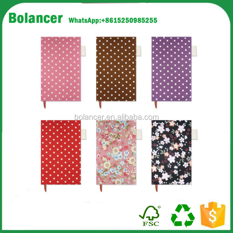 Linen cotton Paperback Book Cover Fabric B6 Melon Dots Sakura for Planner