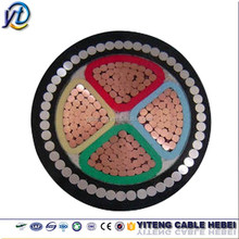 underground electrical armoured 4 core power cable