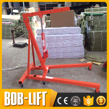 Used 2t Workshop Crane Hoist Hydraulic Engine Lift Crane