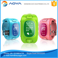 Long battery life kids GPS watch tracker Phone SOS cheap price with free APP