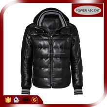 Cheap Custom Water-resistant / Breathable Men Winter Down Jacket