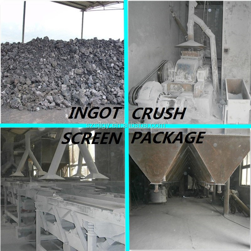 Artificial stone raw material of white quartz glass sand