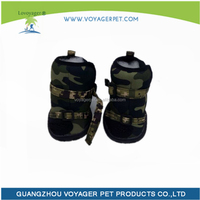 Lovoyager Guangzhou Pet Fhoes Factory Price Leisure Army Dog Boots