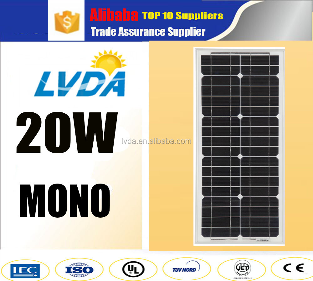 china best seller products hot selling Mono & Poly 12V panel solar 5w 10w 20w 30w 40w 50w 60w 70w 80w 90w 100w mono soalr panel