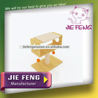 Pet house cardboard, wooden board, sisal assembling never seen