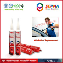 Hot Sale PU8611 Car Front Glass Repair PU Windscreen Adhesive