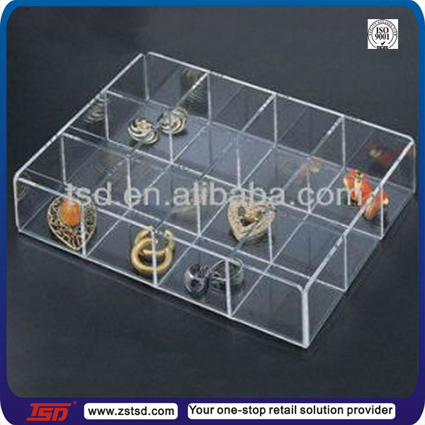 Tsd a158 Customized Clear Plastic Storage Box With Dividerssmall