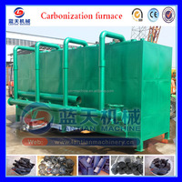 Iso Certification Bamboo Charcoal Carbonization Oven Kiln