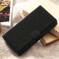 Best selling PU leather soft feeling decorative mobile phone case for Samsung Galaxy Note 3 bill site and card slots inside